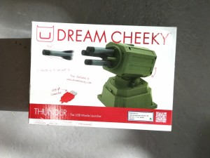 Dream Cheeky Thunder, The USB Missile launcher