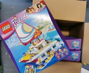 Lego, 3 stk 41317 FRIENDS, Sunshine Catamaran V29