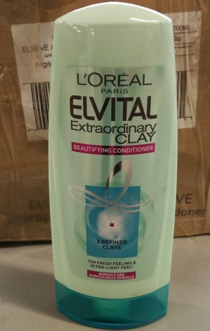 Elvital Balsam 200 ml, Extraordinary Clay - 6 stk.