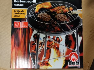 Barbecue Grill Metal, 1 stykk FRA BBQ collection