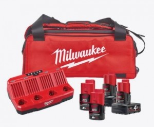 Ladepakke, MILWAUKEE M12 NRG-424B