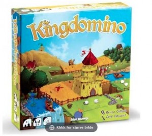 3 stykk spill,Kingdomino, Patchwork, Welcome to our perfect home