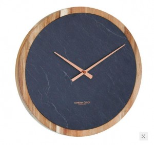 London Clock -CARBON  - Liten skade