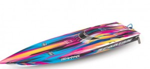 Spartan™ RTR Brushless Muscleboat w/Traxxas Stability Management, 1 stykk