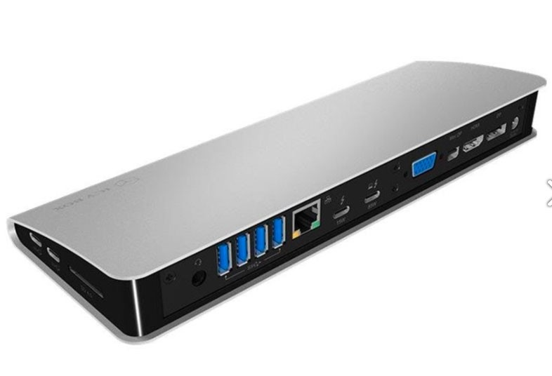 Dockingstasjon - RaidSonic ICY BOX Thunderbolt 3 USB Type