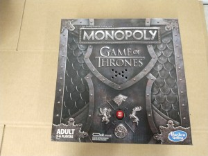 Spill Monopoly Game of Thrones, 1 stk