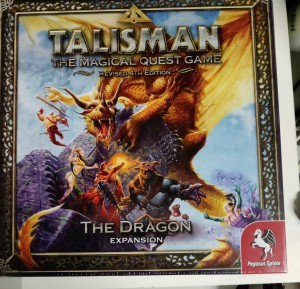 Brettspill - Talisman – The Dragon - Expansion