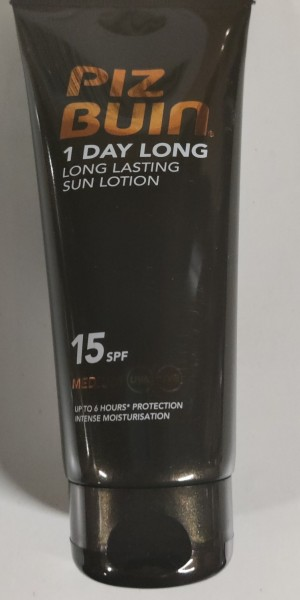 6 stk - Piz Buin 1 Day Long Lasting Sun Lotion – High SPF 30 100 ml