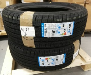 2 stk. dekk - Triangle AdvanteX SUV, 225/55R18