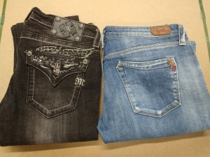 Denimbukse Replay str. 31/32 og Miss Verb skinny str. 29, 2 stk