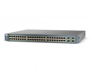 Cisco Switch WS-C3560G-48PS-S. 48port Gigabit POE, brukt