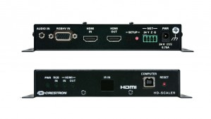 AV-utstyr: Crestron HD-SCALER, High Definition Video Scaler, brukt