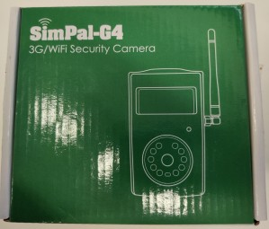 SimPal-G4 3G/WiFi Security Camera, 1 stykk