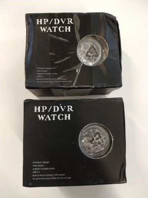 Professional Hp/Dvr Spy Watch - 8gb, 2 stk