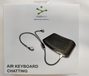 Cideko Air Keyboard Chatting AK05, 4 stykk