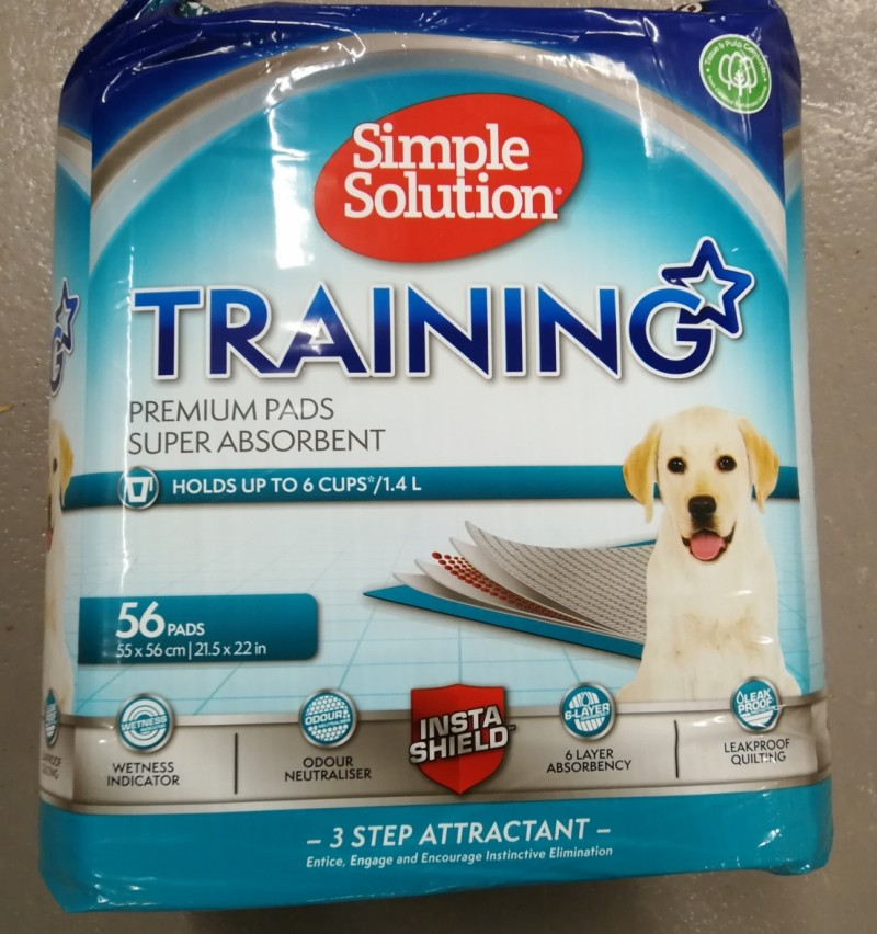Simple Solution Training pads for hund - 56 pads