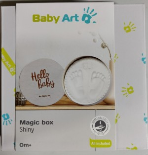 2 stk - Baby Art Magic Box - Gipsavstøp