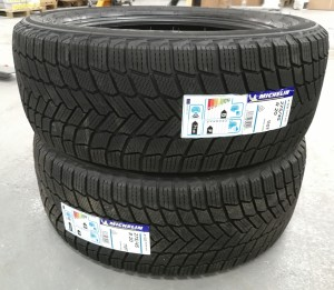 2 stk. dekk Michelin X-ice Snow SUV  275/45R20