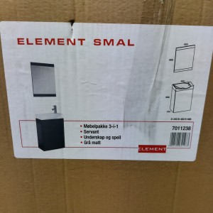 Element Smal Baderomsmøbel