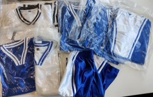 Singlets og shorts fra Magic Athletics i størrelse XS