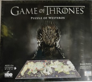 Pusslespill - Puzzle of Westeros (1500)