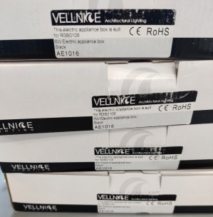 Vellnice 6W Electric appliance box, AE1016, 4 stykk