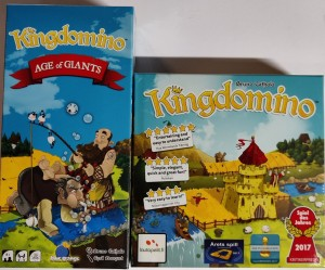2 stk Brettspill - Kingdomino + Age of Giants
