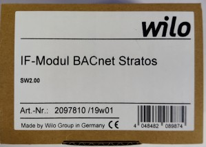 Wilco IF-Modul Stratos BACnet MS/TP