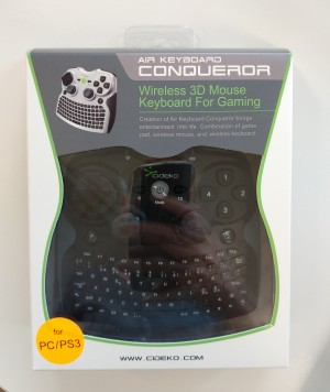 Wireless 3D Mouse Keybboard for gaming for PC/PS3, 4 stk