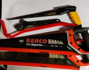 Diverse Bahco sager mm