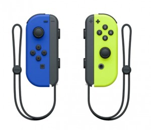 Nintendo Switch Joy-Con Blue/Neon Yellow